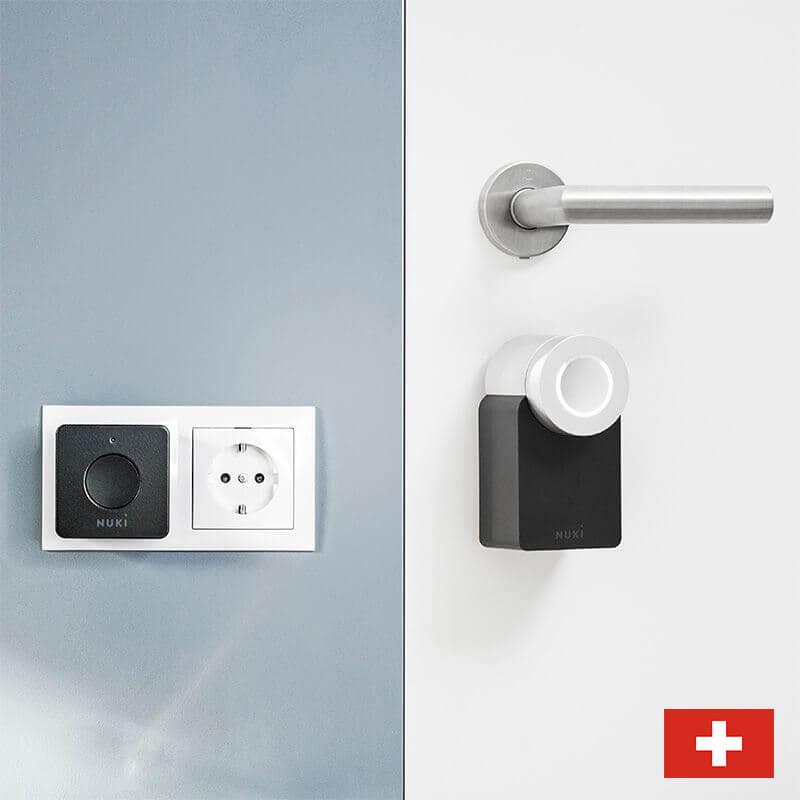 Nuki Combo - Tür & Steckdose - Das elektronische Türschloss mit WLAN für die Schweiz